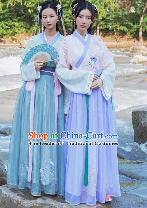 Traditional Chinese Ancient Costume China Ancient Tang Dynasty Hanfu Princess Dress Clothing