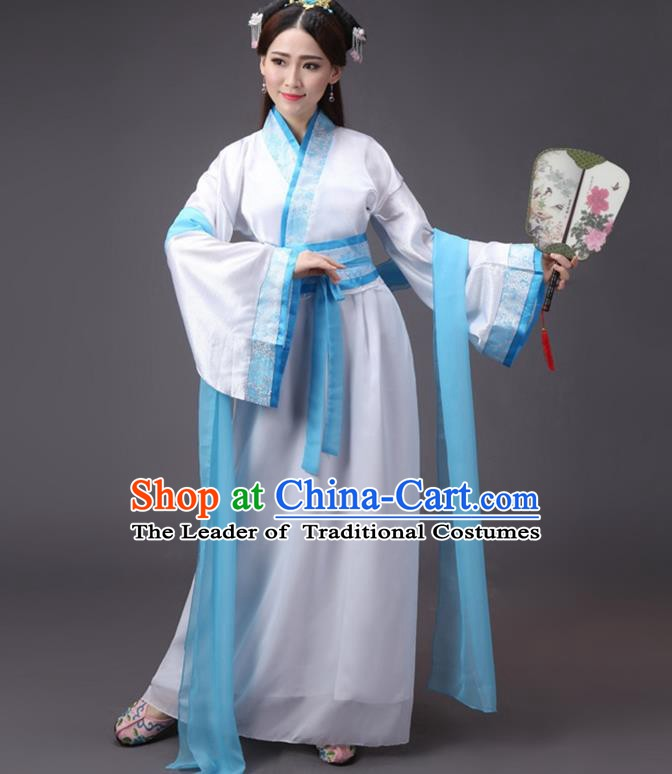 China Song Dynasty Palace Lady Costume Ancient Princess Fairy Dress Clothing for Women