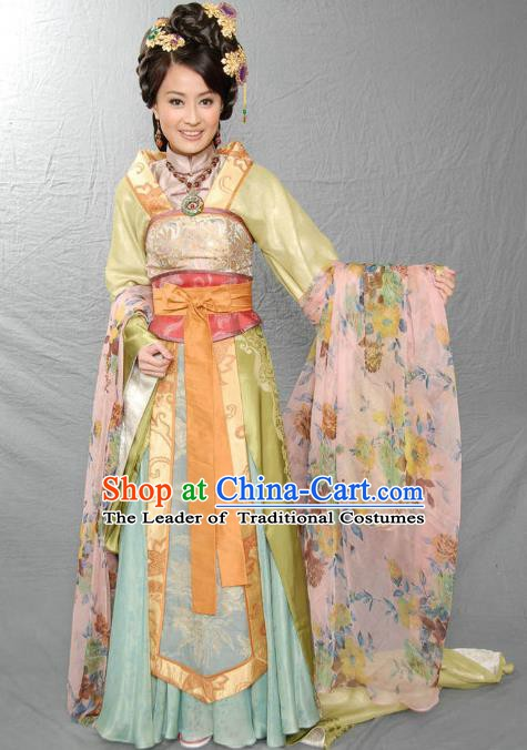 Ancient Chinese Ming Dynasty Consort Prince Yan Embroidered Historical Costume Palace Replica Costume for Women