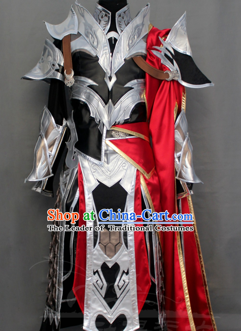 Superhero Armor Style Costumes Complete Set for Men