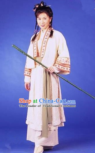 Chinese Ancient Ming Dynasty Swordswoman Princess Changping Replica Costume for Women