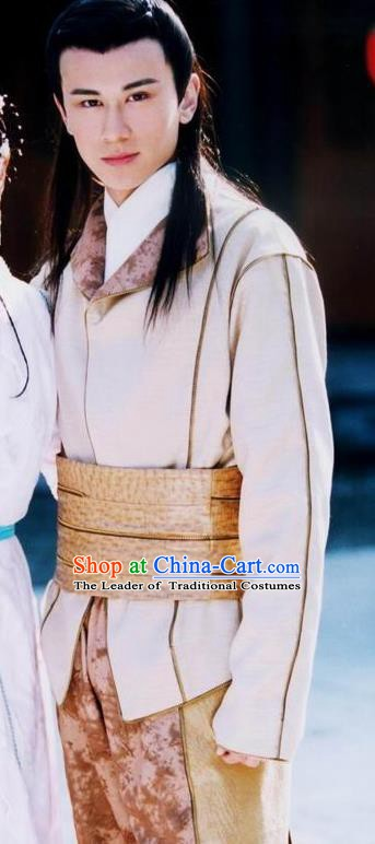 Chinese Ancient Song Dynasty Major General Yang Qilang Replica Costume for Men