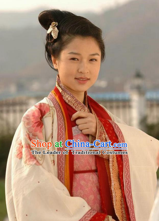 Ancient Chinese Song Dynasty General Yang Five Daughter-in-law Swordswoman Replica Costume for Women