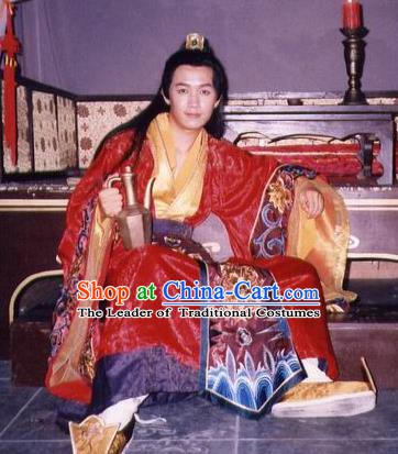 Chinese Ancient Tang Dynasty Princess Husband Nobility Childe Fang Yiai Replica Costume for Men