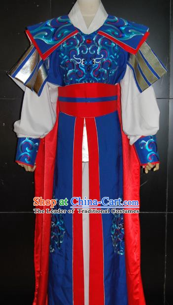 Traditional Chinese Beijing Opera General Costume Peking Opera Warrior Clothing for Adults