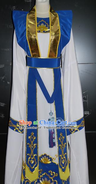 Traditional Chinese Beijing Opera Costume Peking Opera Niche White Clothing for Adults