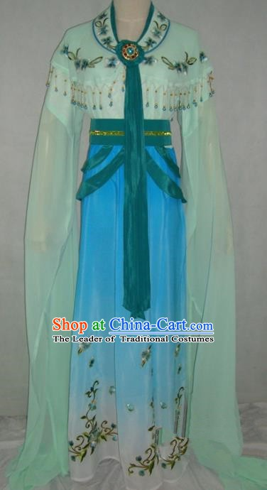 Top Grade Chinese Beijing Opera Princess Costume China Professional Peking Opera Green Dress