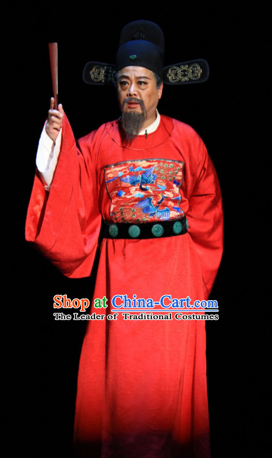 Ming Dynasty Prime Minister Zhang Juzheng Costumes and Hat Complete Set