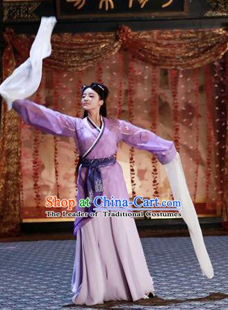 Chinese Han Dynasty Beauty Li Hanfu Dress Ancient Imperial Consort Replica Costume for Women