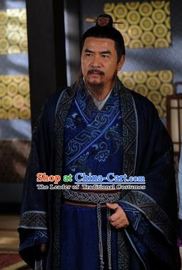 Ancient Chinese Tang Dynasty Litterateur Minister Replica Costumes for Men