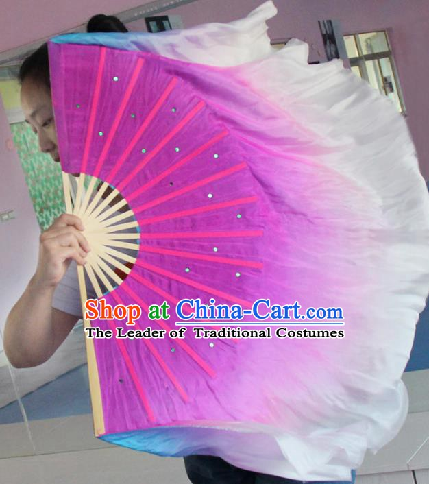 Traditional Chinese Crafts Folding Fan China Yangge Dance Fan Oriental Fan Tai Ji Fans