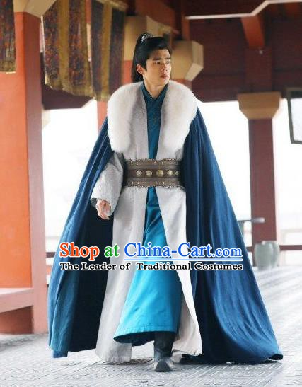 Ancient Chinese Nirvana in Fire Swordsman Childe Xiao Pingjing Replica Costume for Men