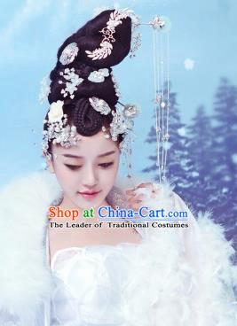 Traditional Chinese Ancient Princess Hair Accessories Hairpins Hair Clips Complete Set for Women