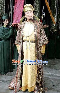 Chinese Ancient Emperor Taizong of Tang Dynasty Li Shimin Replica Costume for Men