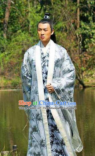Ancient Chinese Tang Dynasty Prince Li Xian Replica Costume for Men