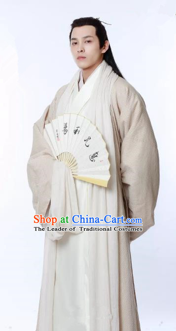 Untouchable Lovers Chinese Ancient Nobility Childe Replica Costume Southern and Northern Dynasties Scholar Clothing for Men