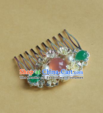 Traditional Chinese Ancient Hair Comb Hair Accessories Handmade Hanfu Hairpins for Women