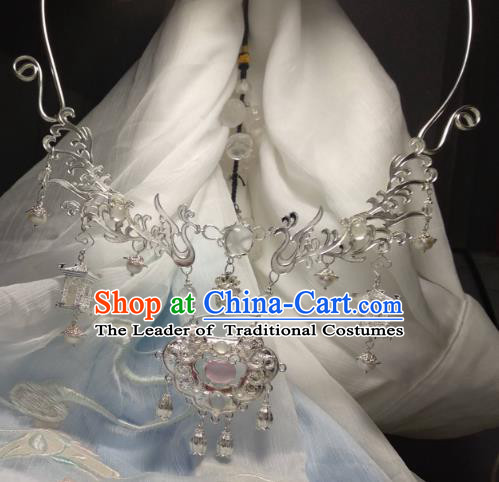 Chinese Traditional Ancient Accessories Necklace Classical Hanfu Necklet for Women