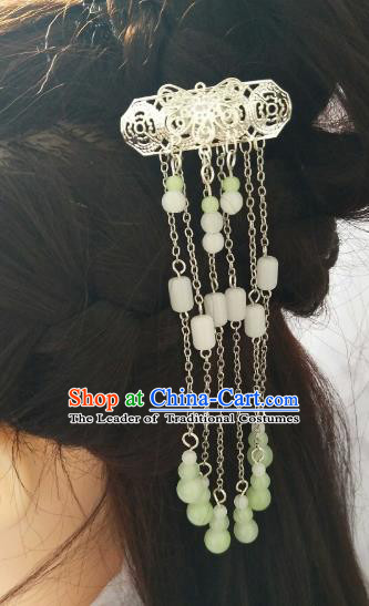 China Ancient Hair Accessories Hanfu Princess Tassel Hair Stick Chinese Classical Hairpins for Women