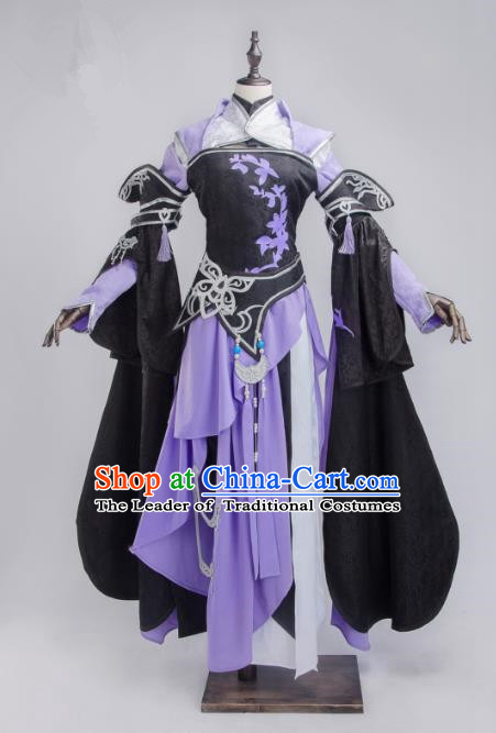China Ancient Cosplay Female Knight-errant Costumes Chinese Traditional Princess Swordsman Warriors Clothing for Women