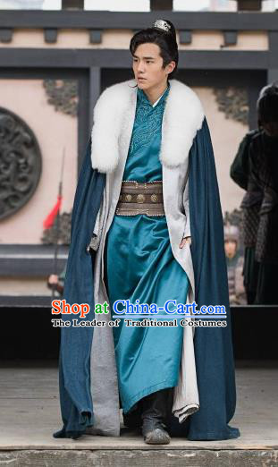 Nirvana in Fire Chinese Ancient Northern and Southern Dynasties Nobility Childe Xiao Pingjing Replica Costume for Men