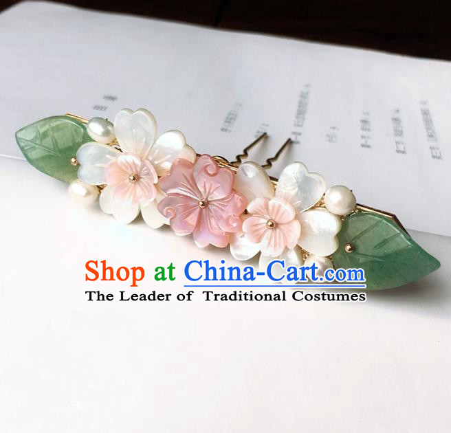 Traditional Handmade Chinese Ancient Classical Hair Accessories Flowers Hair Stick Hairpins for Women