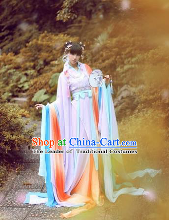Chinese Ancient Costume Cosplay Princess Clothing Jin Dynasty Nobility Lady Hanfu Dress for Women