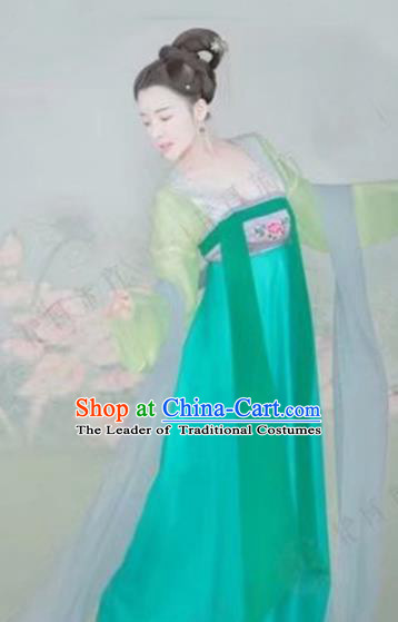 Chinese Traditional Tang Dynasty Imperial Consort Hanfu Dress Ancient Imperial Concubine Costume for Women