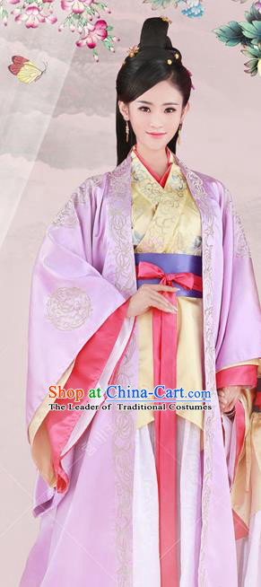 Chinese Traditional Han Dynasty Princess Hanfu Dress Ancient Palace Lady Costume for Women