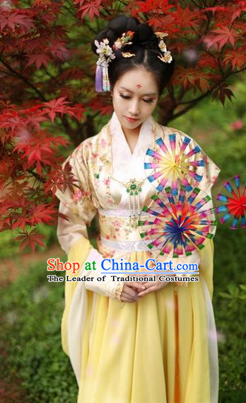Chinese Ancient Nobility Lady Costume Song Dynasty Imperial Consort Hanfu Dress for Women
