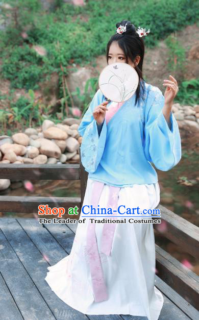 Chinese Traditional Ming Dynasty Nobility Lady Hanfu Dress Ancient Princess Costume for Women
