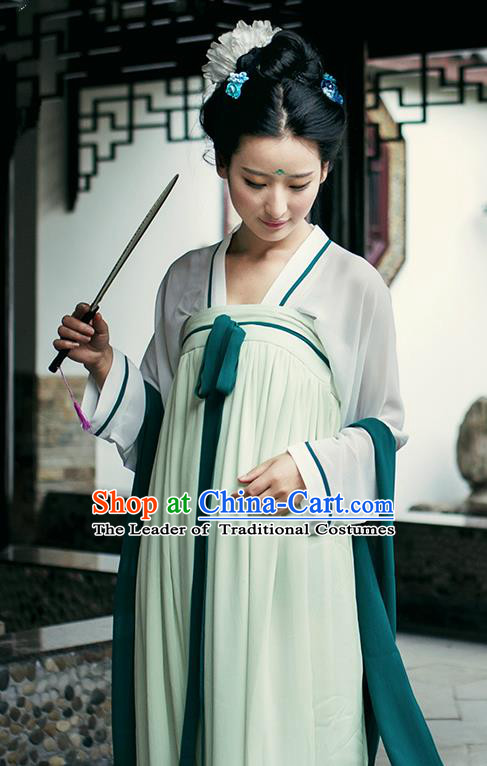 Chinese Ancient Palace Lady Hanfu Dress Tang Dynasty Imperial Concubine Costumes for Women