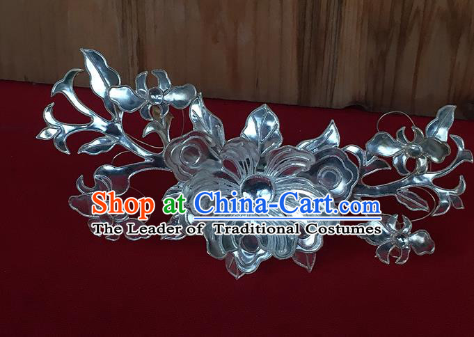 Chinese Traditional Ancient Bride Hair Crown Hanfu Hairpins Hair Accessories for Women