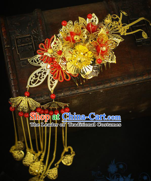 Chinese Traditional Hair Accessories Ancient Hanfu Hair Comb Hairpin for Women