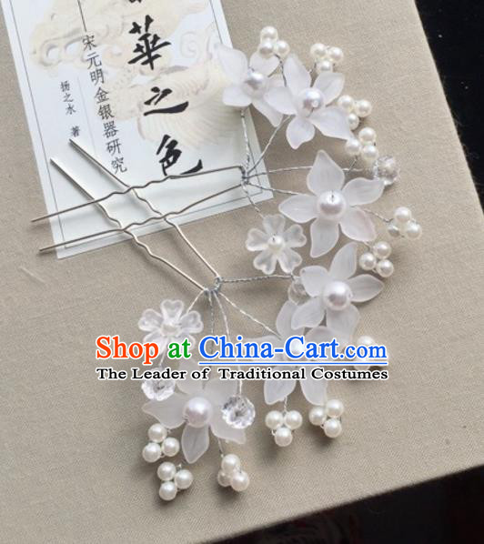 Chinese Traditional Hair Accessories Plum Blossom Hair Stick Ancient Hairpins for Women