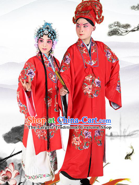 Professional Chinese Beijing Opera Costumes Peking Opera Gifted Scholar and Diva Robes for Adults