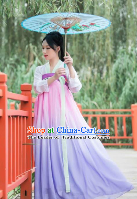 55e9daf43ec4 Chinese Ancient Fairy Princess Hanfu Dress Tang Dynasty Palace Lady Clothing  for Women