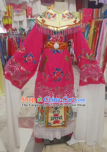 Chinese Ancient Peking Opera Princess Embroidered Dress Traditional Beijing Opera Diva Costumes for Adults