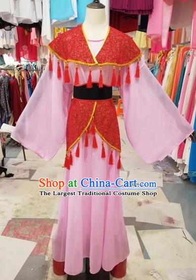 Chinese Huangmei Opera Young Lady Hanfu Dress Traditional Beijing Opera Diva Costume for Adults