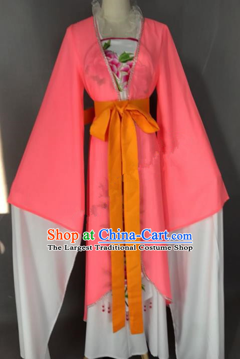 Chinese Ancient Princess Costume Traditional Beijing Opera Actress Dress for Adults