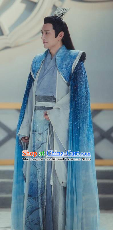 Chinese Ancient Royal Highness Clothing The Honey Sank Like Frost Swordsman Costumes for Men