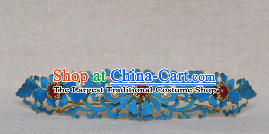 Chinese Qing Dynasty Hair Comb Hairpins Hair Accessories Ancient Handmade Hanfu Hair Clip for Women