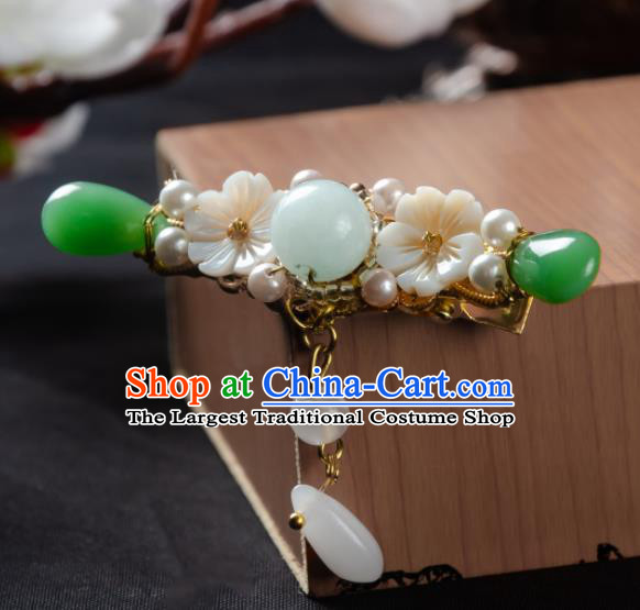 Chinese Ancient Hair Accessories Hanfu Jewel Hair Comb Handmade Hairpins for Women