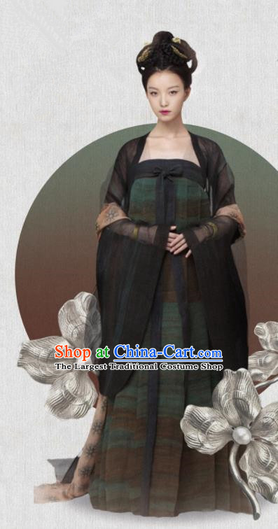 Ancient Chinese Hanfu Dress Tang Dynasty Drama The Rise of Phoenixes Princess Costumes for Women