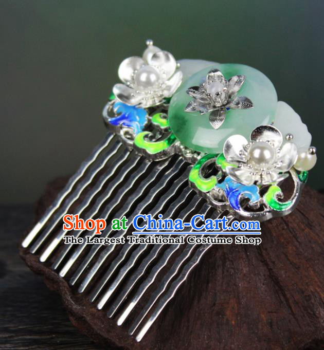 Chinese Ancient Handmade Palace Hanfu Hairpins Hair Accessories Hair Comb for Women