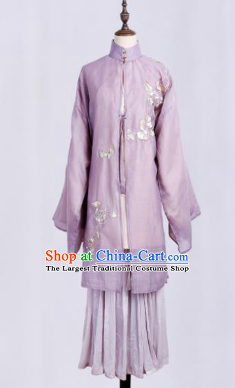 Chinese Ancient Nobility Lady Costumes Traditional Ming Dynasty Hanfu Dress for Women