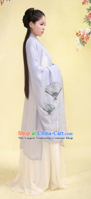 Chinese Ancient Cloak Hanfu Dress Tang Dynasty Princess Embroidered Costume for Rich Women