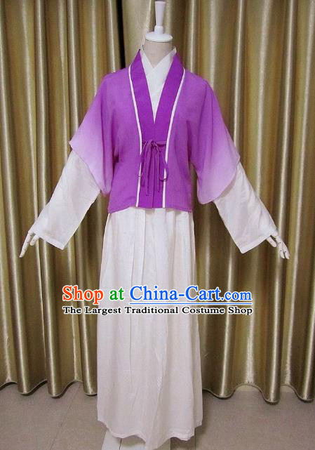 Traditional Chinese Song Dynasty Maidenform Clothing Ancient Swordsman Costume for Women
