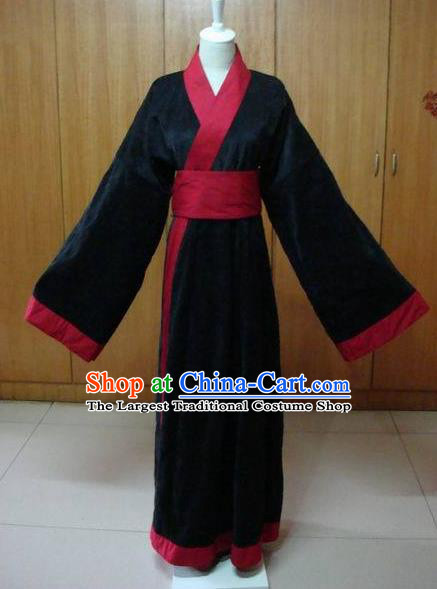 Traditional Chinese Han Dynasty Swordswoman Clothing Ancient Maidenform Costume for Women