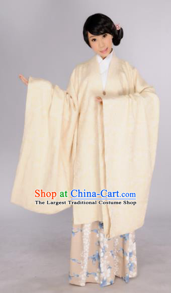 Chinese Traditional Ming Dynasty Dowager Countess Hanfu Dress Ancient Maidenform Costumes for Women